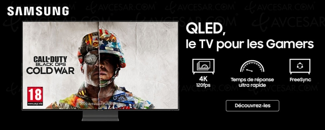 Quel TV pour PlayStation 5/Xbox Series X ? Un QLED Samsung HDMI 2.1 !