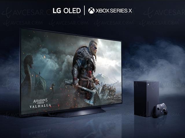 TV LG Oled partenaire de la Xbox Series X