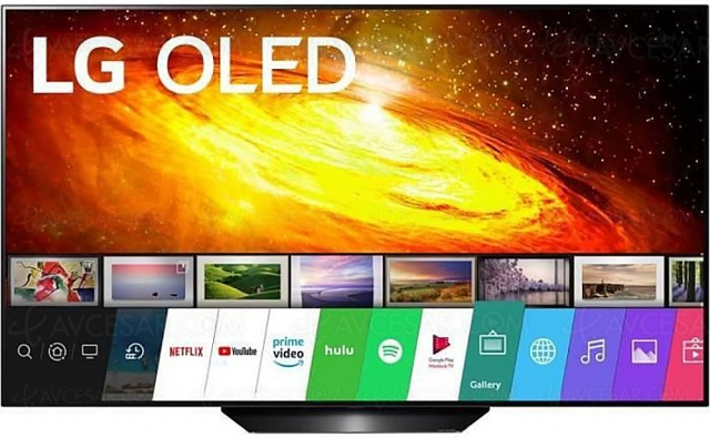 Black Friday 2020 >TV Oled Ultra HD 4K LG 55BX3 à 1 149 € soit 24% de remise