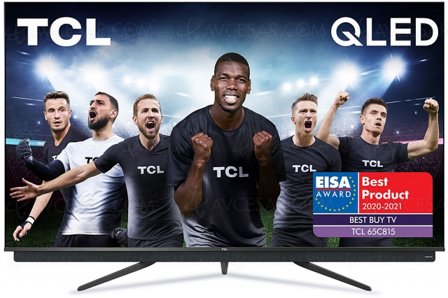 Black Friday 2020 > TV LED TCL 65C815 à 899 €, soit ‑300 € de remise