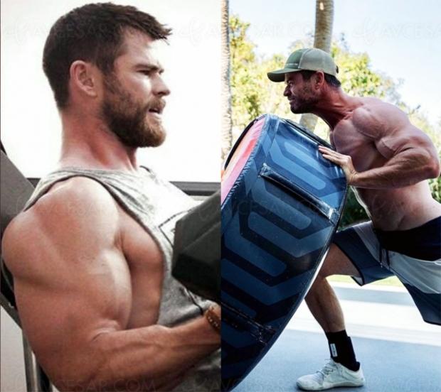 Chris Hemsworth au régime « Hogan » (photos)