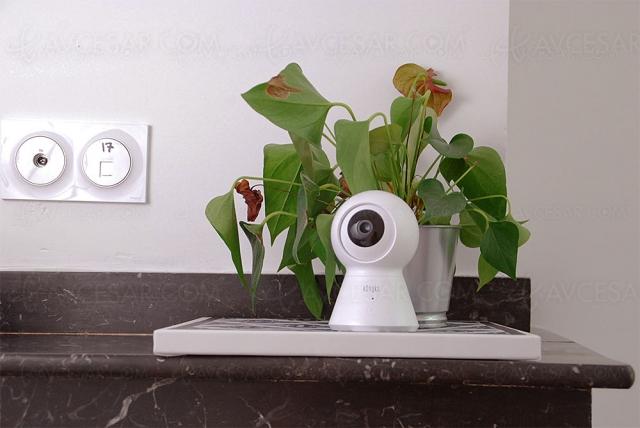 Konyks Camini Max, caméra de surveillance sans‑fil et motorisée