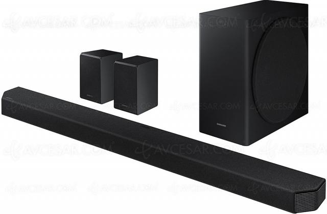Black Friday 2020 > Barre de son Dolby Atmos 9.1.4 Samsung HW‑Q950T à 999 €, soit ‑34% de remise