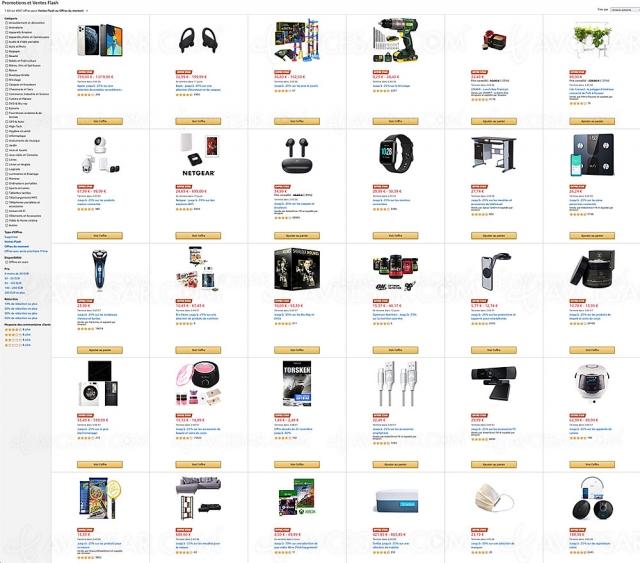 Pré-Black Friday 2020 Amazon, 4 004 offres jusqu'à ‑87%
