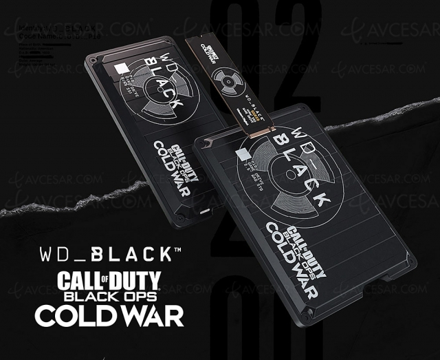 Disques durs WD_Black éditions spéciales Call of Duty : Black Ops Cold War