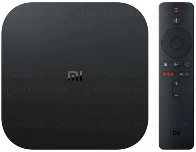 Black Friday 2020 > Xiaomi Android TV Mi Box S 4K HDR à 46,99 € soit ‑23 € ou ‑33% de remise