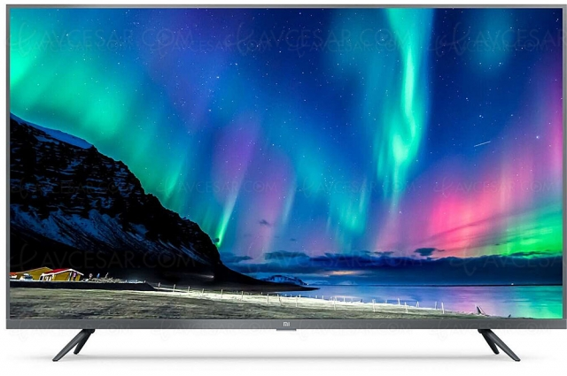 Black Friday 2020 > TV LED Ultra HD 4K Xiaomi Mi 4S 43 à 299 €, soit ‑100 € ou ‑26% de remise