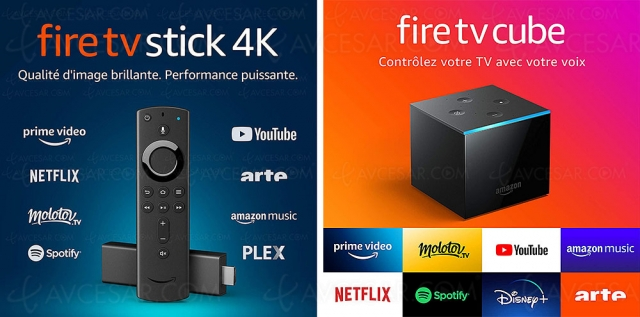 Black Friday 2020 > Amazon Fire TV Lite, Stick, Stick 4K et Cube 4K à ‑25% et ‑33% de remise
