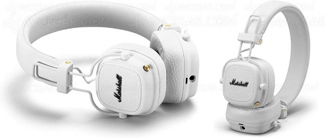 Black Friday 2020 > Casque Marshall Major III Bluetooth à 67,63 € soit ‑55% de remise