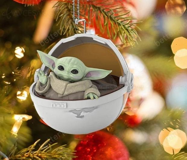 Ça sent le sapin pour Baby Yoda, images !