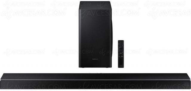 Black Friday 2020 > Barre de son 5.1 Samsung HW‑Q60T à 249 €, soit ‑51% de remise