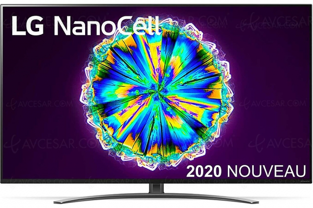 Black Friday 2020 > TV LED Ultra HD 4K LG 65NANO86 à 999 € soit ‑300 € ou ‑24% de remise