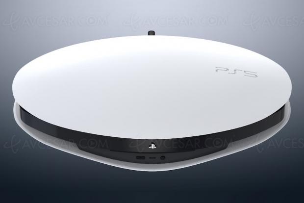 Et si la PlayStation 5 était ronde ?