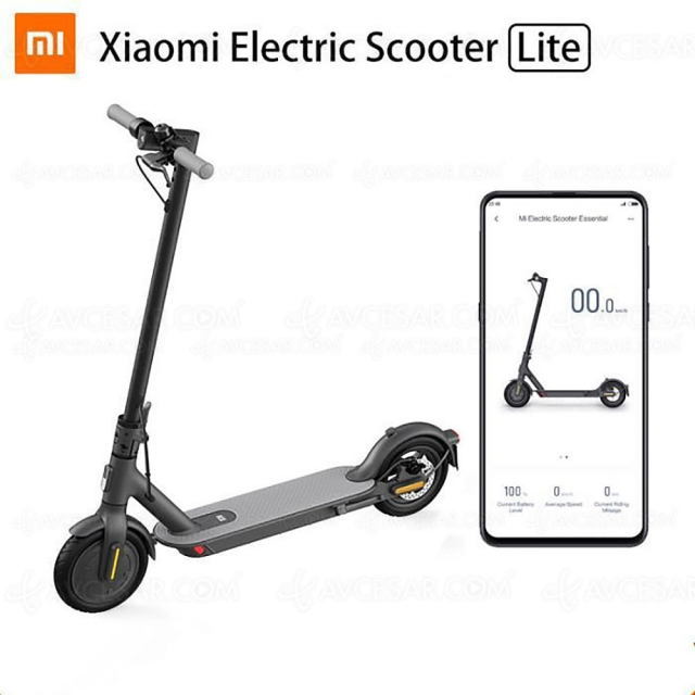 Black Friday 2020 > Trottinette électrique Xiaomi Mi Electric Scooter à 249,99 €, soit ‑200 € de remise