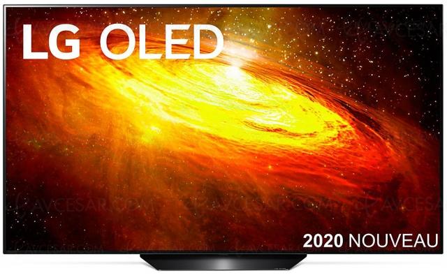 Black Friday 2020 > TV Oled LG OLED65BX à 1 799,99 €, soit ‑700 € de remise
