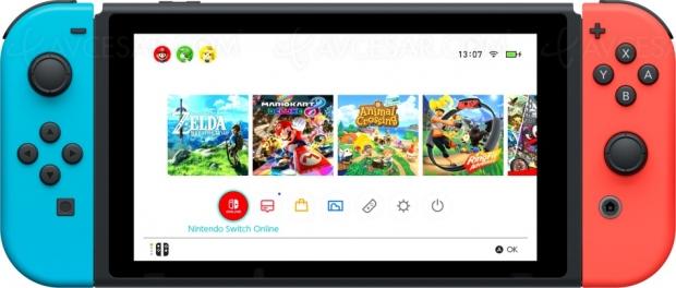 Nouvelles fonctionnalités sur Nintendo Switch