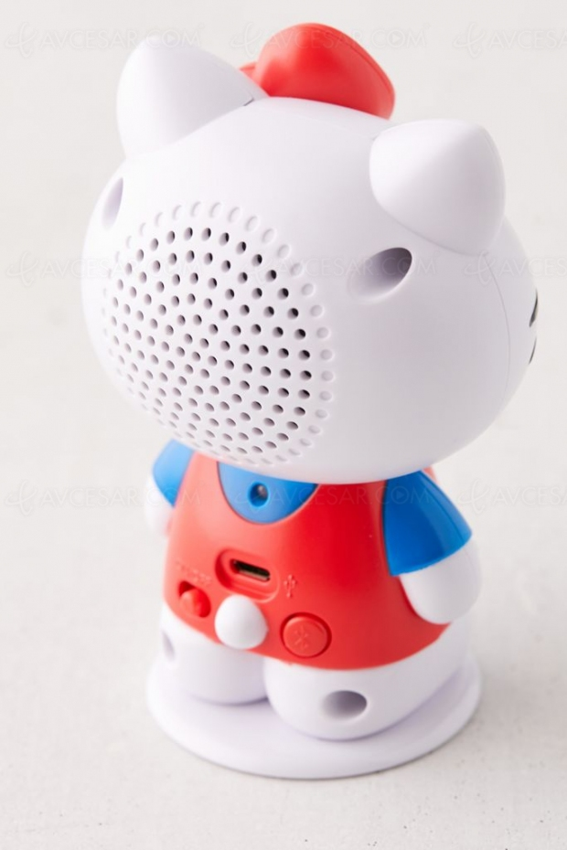 Enceinte portable Hello Kitty trop kawaii