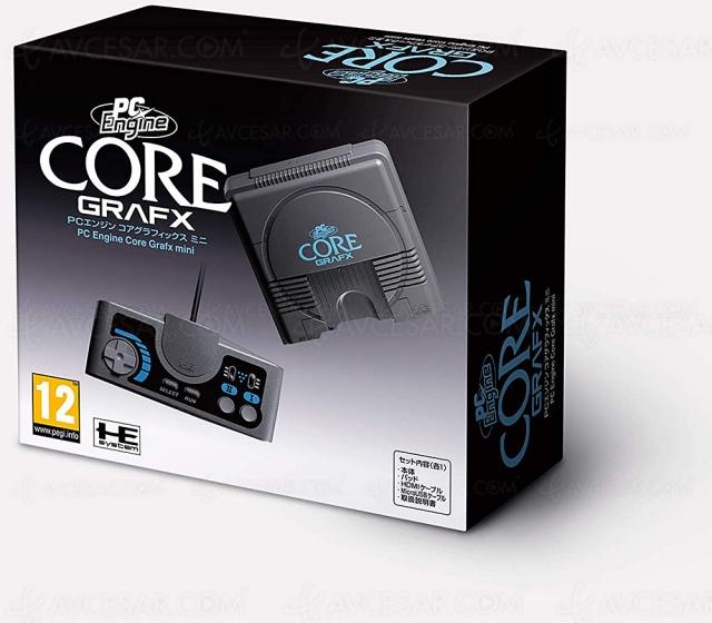 Black Friday 2020 > Console de jeux PC Engine CoreGrafx mini à 84,40 € soit ‑24% de remise