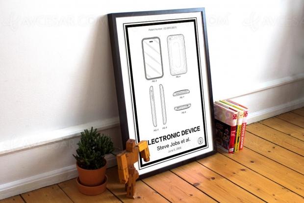 Et les brevets Apple (entre autres) deviennent œuvres d'art