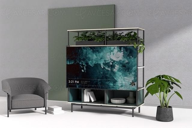 Concept TV/meuble modulaire Mondrian