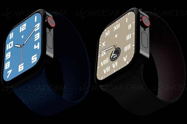Et si l'Apple Watch reprenait le design de l'iPhone 12 ?
