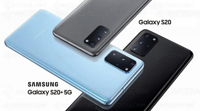 Test smartphone Samsung Galaxy S20, en ligne