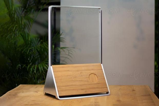 Ammos, enceinte en verre recyclable, réparable et durable