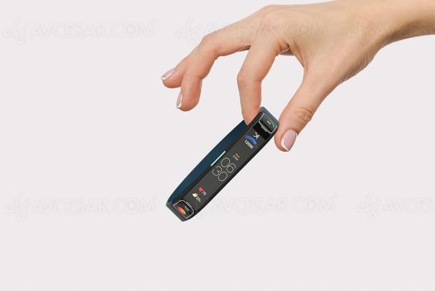Concept de smartwatch à écran « géant »