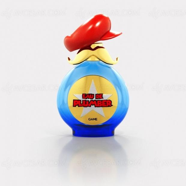 Parfum Mario, ça sent le plombier