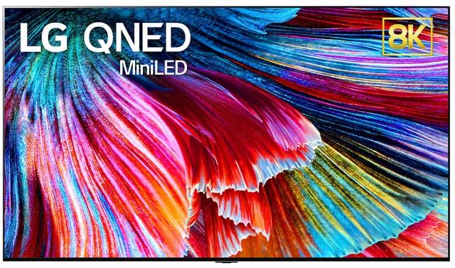 CES 21 > TV QNED Mini LED LG : modèles Ultra HD 4K/8K jusqu'au 86''