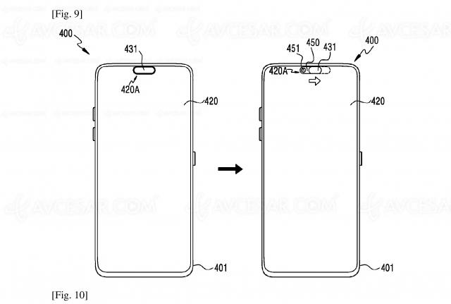 Caméra selfie sous l'écran, enfin une solution élégante ?