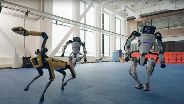 Chorégraphie de haut vol pour les robots Boston Dynamics (vidéo)