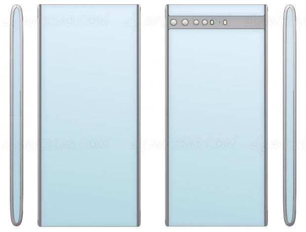 Xiaomi, nouveau brevet smartphone à écran Oled enveloppant