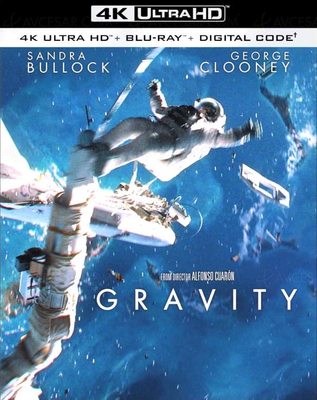 Gravity 4K Ultra HD, 2021, c'est la bonne !
