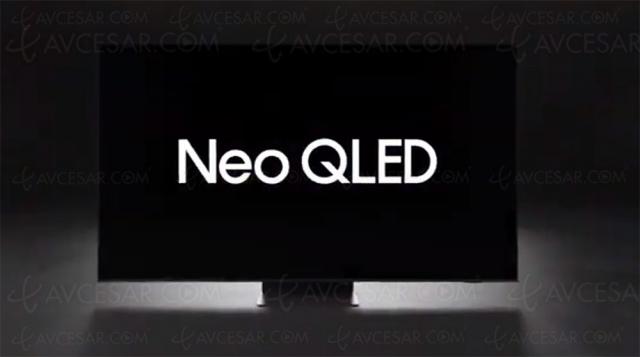 CES 21 > Samsung Neo QLED avec Quantum Mini LED et Quantum Matrix