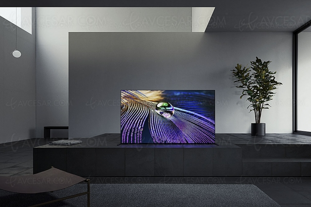 CES 21 > TV Oled Ultra HD 4K Sony A90J Master Series : 55'', 65'', 83'' et XR Cognitive Processor, HDMI 2.1…