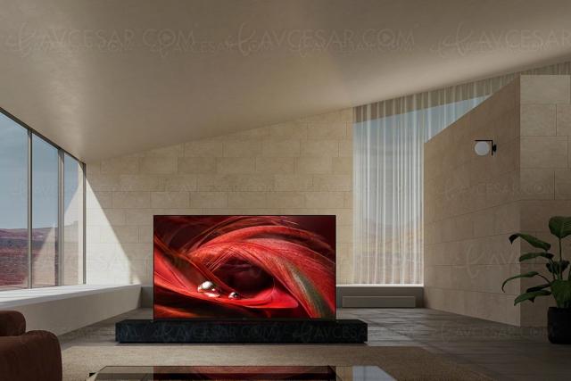 CES 21 > TV LED Ultra HD 4K Sony X95J, 65'', 75'' et 85'' Full LED et XR Cognitive Processor, HDMI 2.1…
