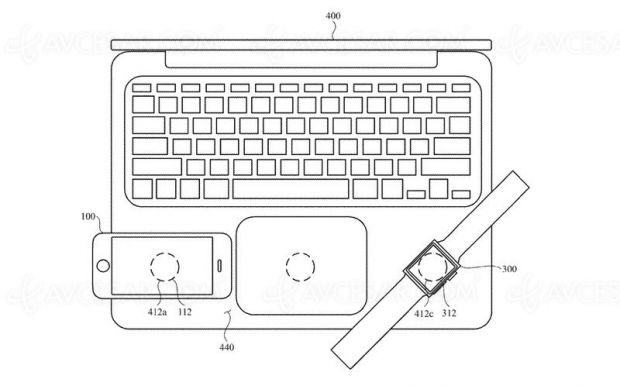 Recharge mutuelle et sans‑fil entre tous les appareils de l'écosystème Apple