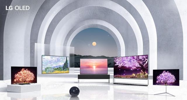 CES 21 > TV Oled LG C1, LG G1 et LG Z1 : de 48'' à 88''