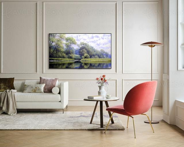 CES 21 > TV Oled LG B1 : dalle 100 Hz, HDMI 2.1, Alpha 7 Gen 4, de 55'' au 77''
