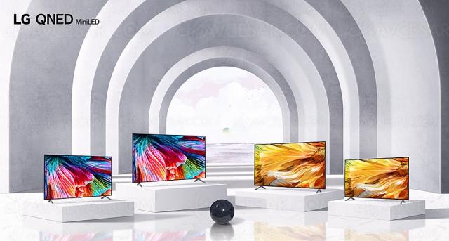 CES 21 > TV Mini LED LG QNED85, LG QNED90, LG QNED95 et LG QNED99 : de 65'' à 86''