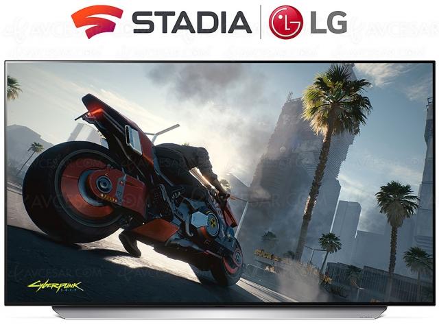 CES 21 > Stadia, GeForce Now et Blade Shadow sur les TV LG 2021