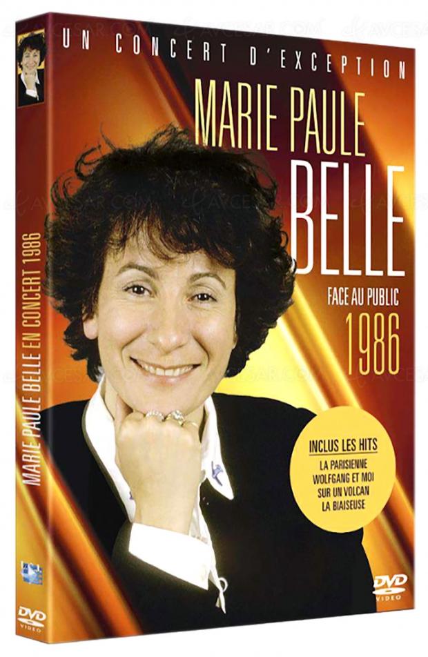 Un concert de Marie-Paule Belle édité pour la première fois en DVD