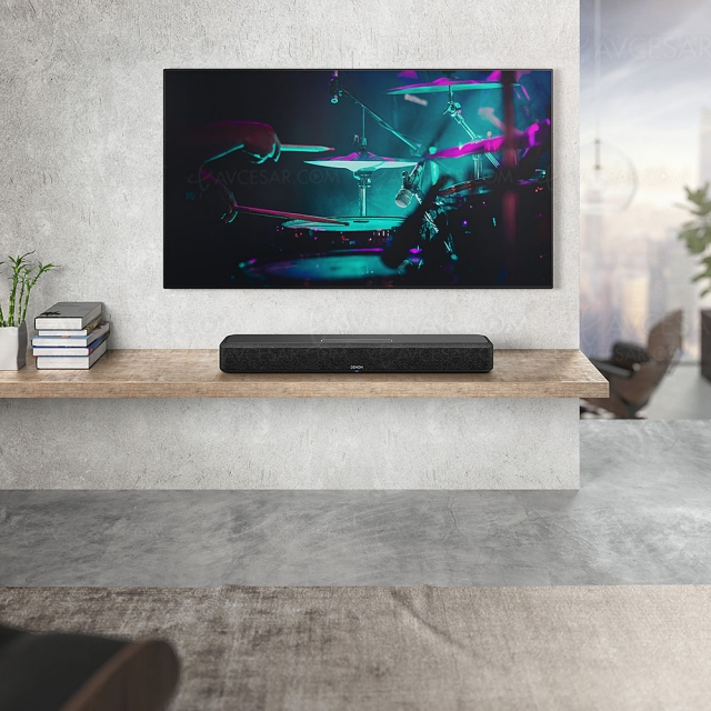 CES 21 > Denon Home 550, barre sonore 3.0 multiroom et Dolby Atmos/DTS:X virtuels