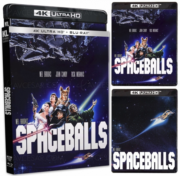 La folle histoire de l'espace: sortie 4K Ultra HD pour la parodie SF de Mel Brooks