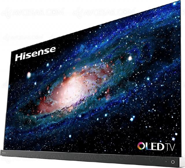 CES 21 > TV Oled Hisense A9G en 55'' et 65'', le retour