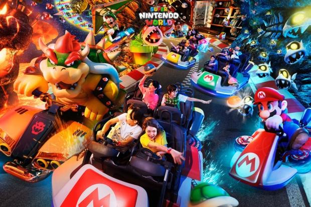 Vous pouvez dès à présent visiter (virtuellement) le parc Nintendo à Osaka