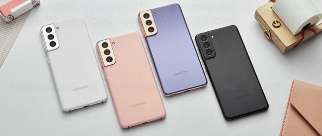 Smartphone Samsung GalaxyS21 5G : écran 120 Hz, HDR10+, 5G et capteur 64 Mpxls