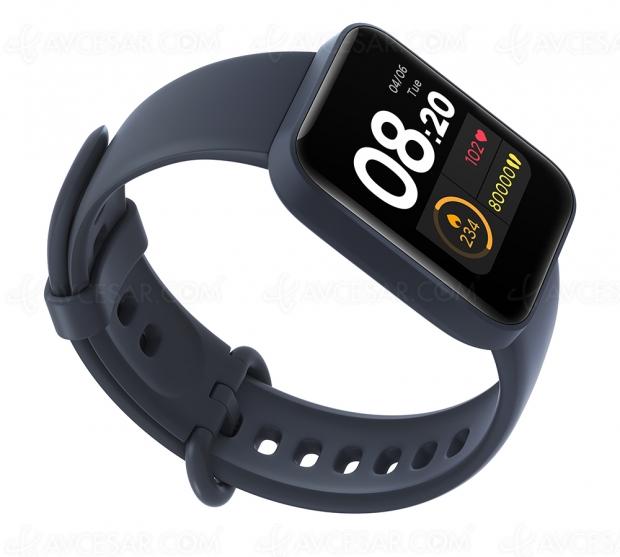 Montre connectée Mi Watch Lite, forte autonomie et prix abordable