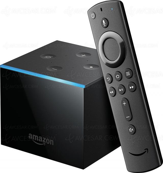 Test lecteur multimédia Fire TV Cube, en ligne